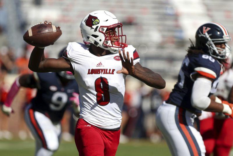Louisville beats Virginia, Lamar Jackson adds to Heisman r  sum'  with winning TD pass