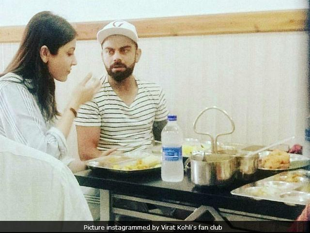Viral: Anushka Sharma And Virat Kohli's Cute Date Picture