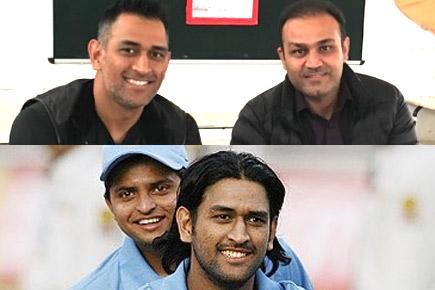 As MS Dhoni turns 36, Virender Sehwag and Suresh Raina lead Twitter wishes
