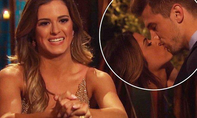'It feels perfect and right' Bachelorette JoJo Fletcher kisses brother of NFL player Aaron Rodgers