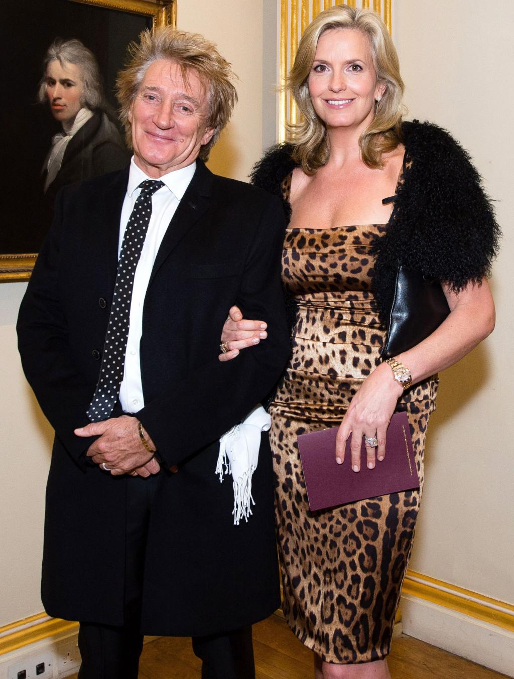Rod Stewart and Penny Lancaster Renew Wedding Vows 10 Years After Tying the Knot