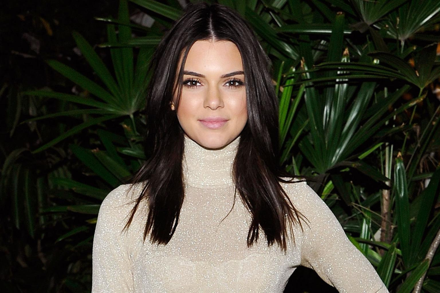 Peek-a-bum! Kendall Jenner Flashes Her Butt in See-through Skirt at Coachella