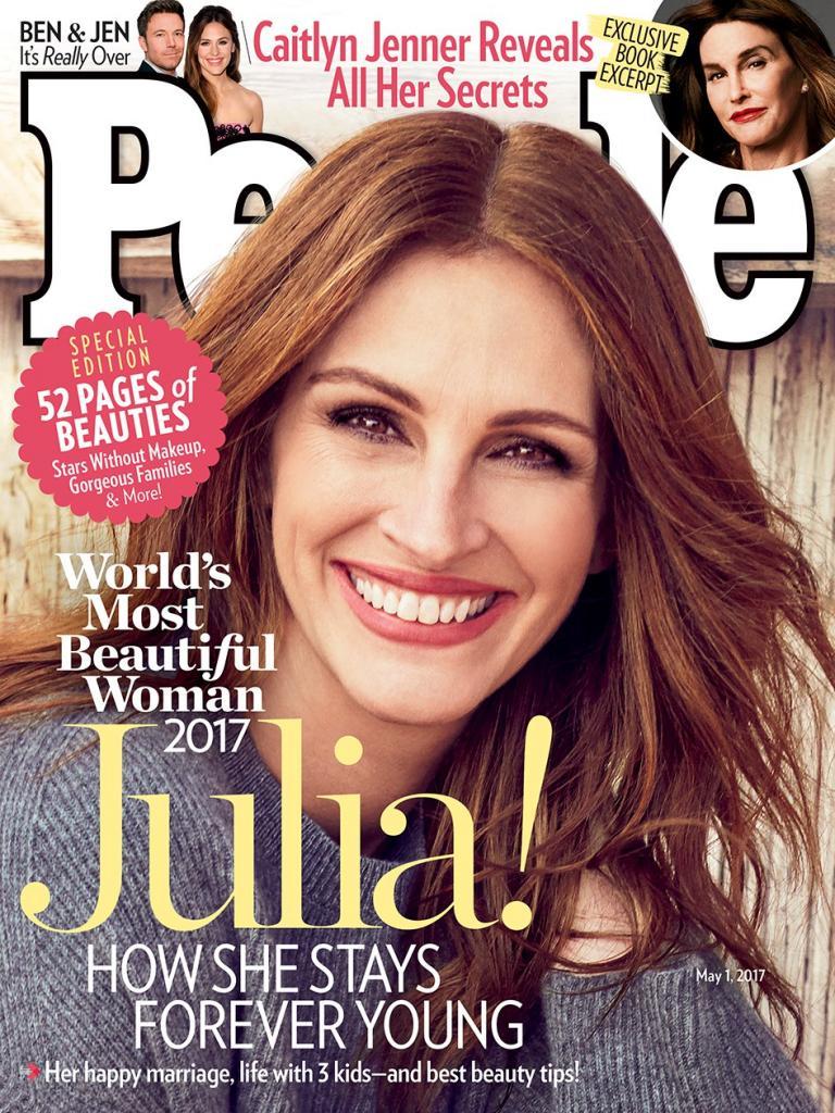 Julia Roberts Is People       's 2017 World       's Most Beautiful Woman!