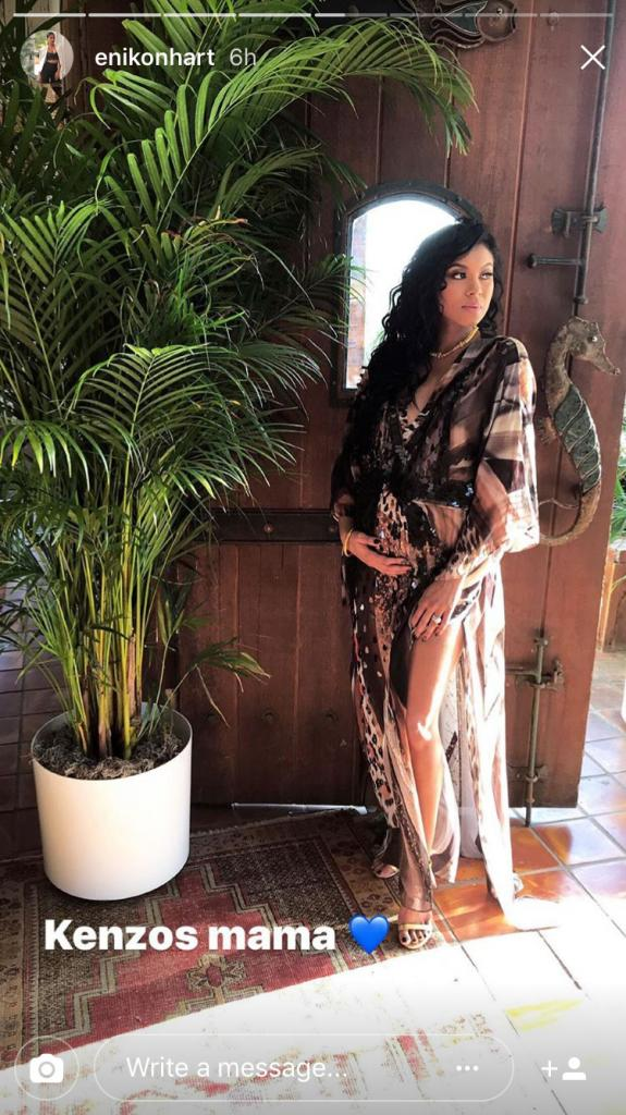 Kevin Hart and Wife Eniko Parrish Reveal Baby Name at Lavish Jungle-Themed Shower