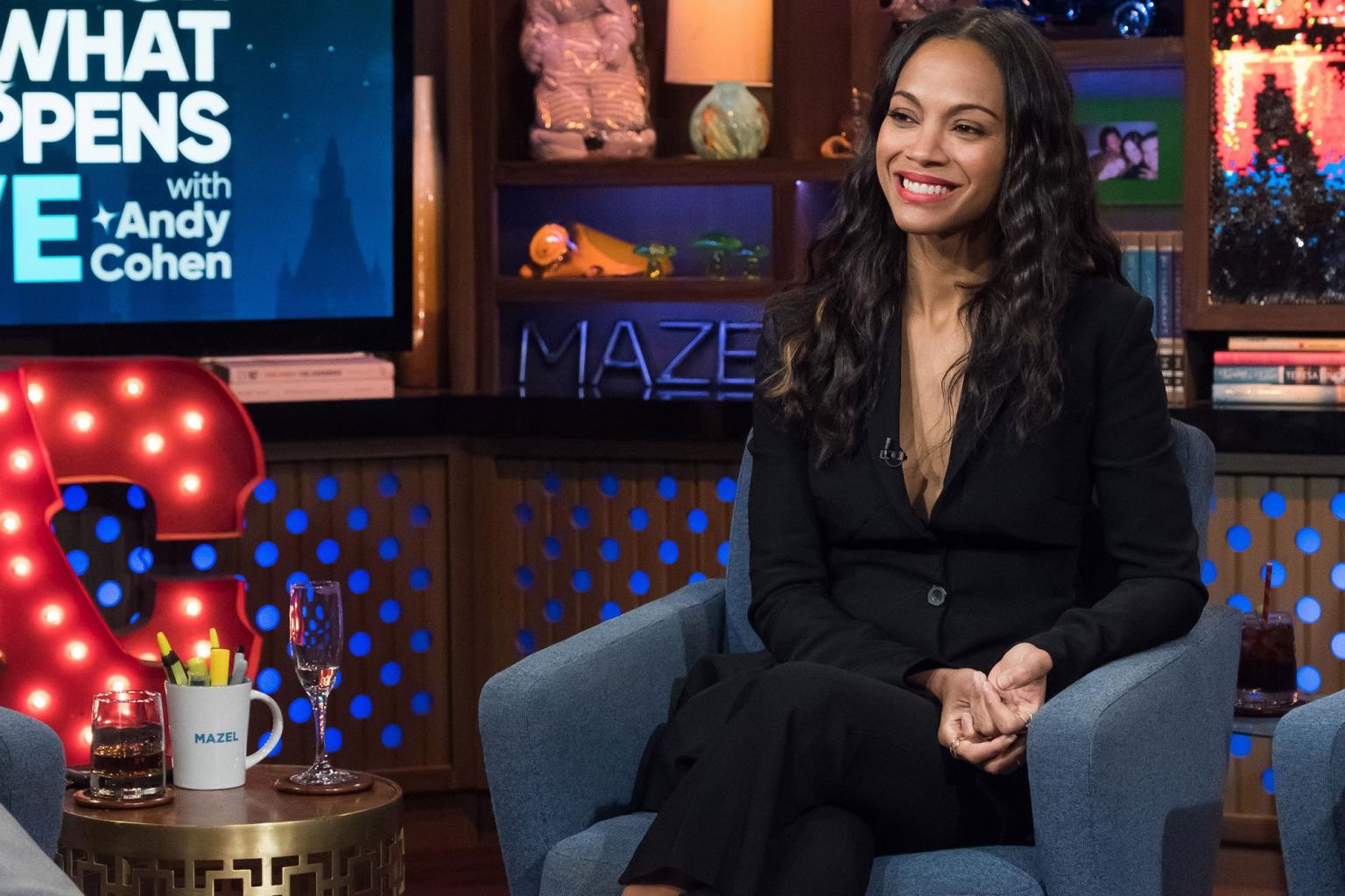 Zoë Saldana Was 'Shocked' When Britney Spears Outed Her Pregnancy: 'We Weren't Ready to Share That'
