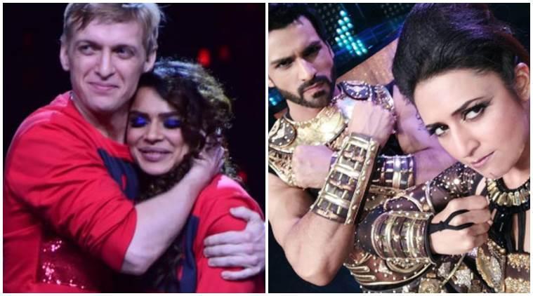 Nach Baliye 8: Divyanka Tripathi-Vivek Dahiya work harder after Aashka Goradia-Brent Goble's shocking elimination. See photos, video