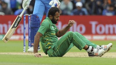 Wahab Riaz for sale on eBay, Pakistan face England in ICC Champions Trophy semifinal