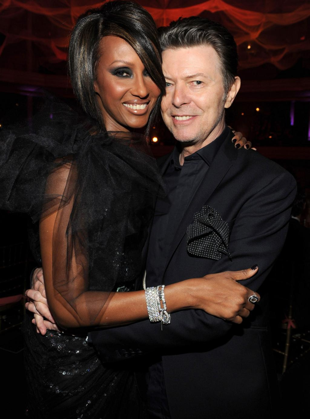 Iman Honors Late Husband David Bowie on What Would Have Been Their 25th Wedding    Anniversary