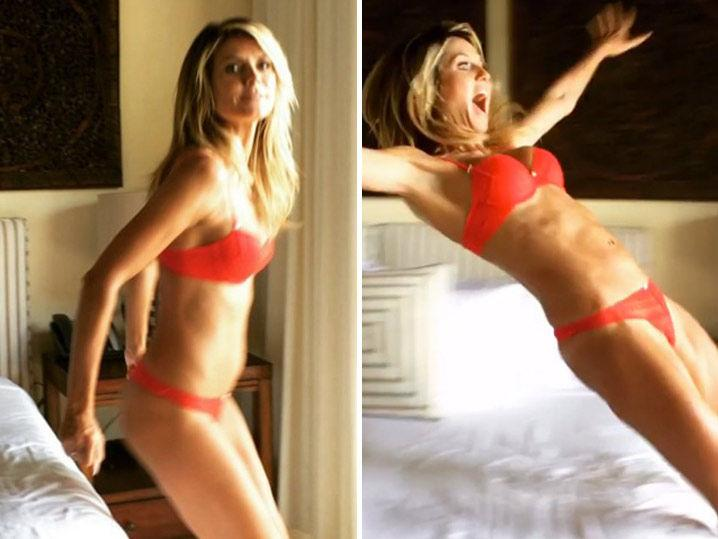 9 Sexy Boomerangs Of Heidi Klum on Vacation to Watch Over and Over and Over!
