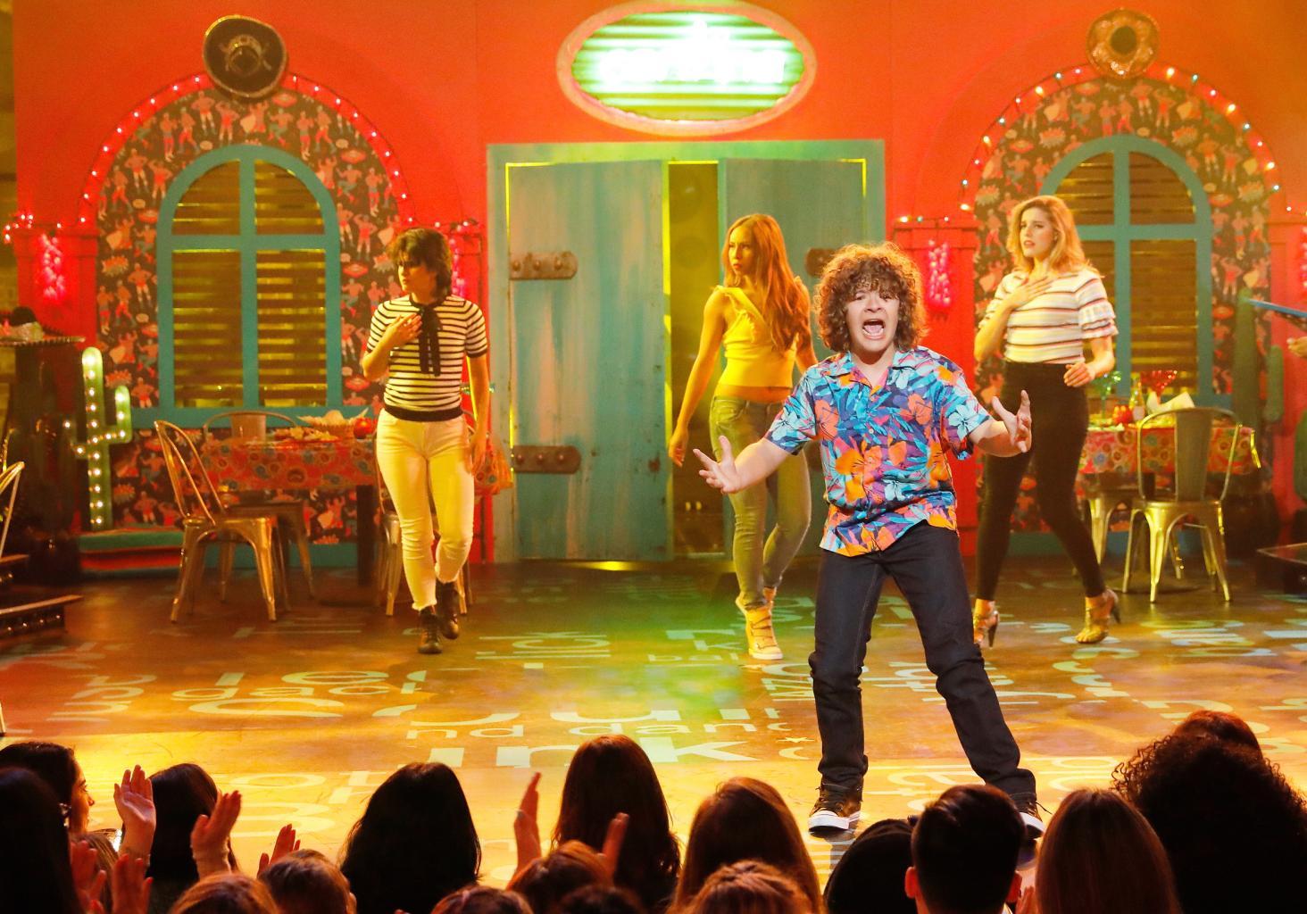 Sneak Peek:    Stranger Things '  Kids Take The Stage For    Lip Sync Battle