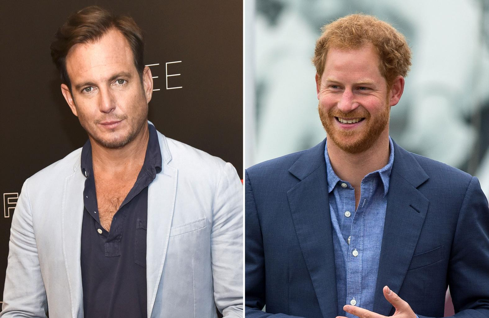 Will Arnett and Prince Harry Are Apparently Texting Buddies