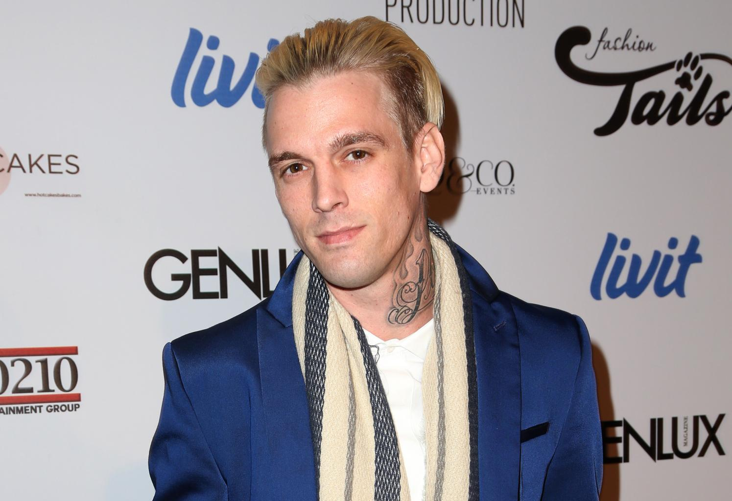 Aaron Carter Says He Got    Heavy Into Drinking '  After His Stint On    Dancing With The Stars