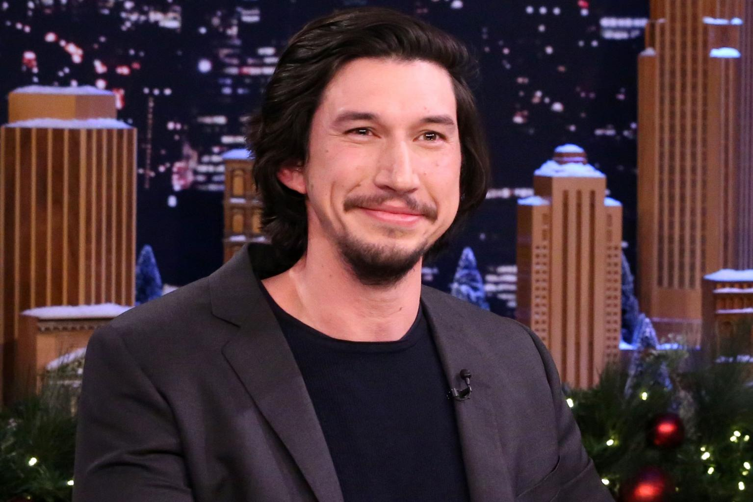 Adam Driver Gives Out Toys of His Star Wars Character Kylo Ren to Friends for Christmas
