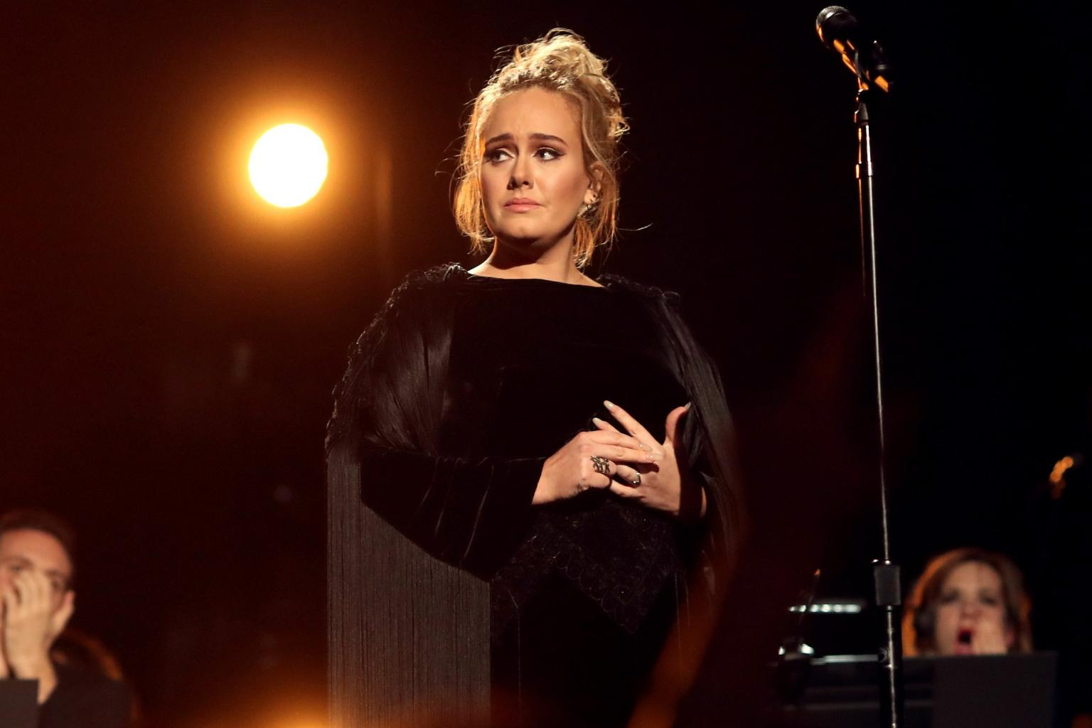 Adele Explains What Went Wrong with Her George Michael Tribute:       'I Was Devastated