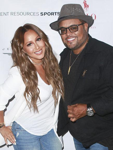 Adrienne Bailon Engaged to Israel Houghton - See Her Huge Diamond Ring!