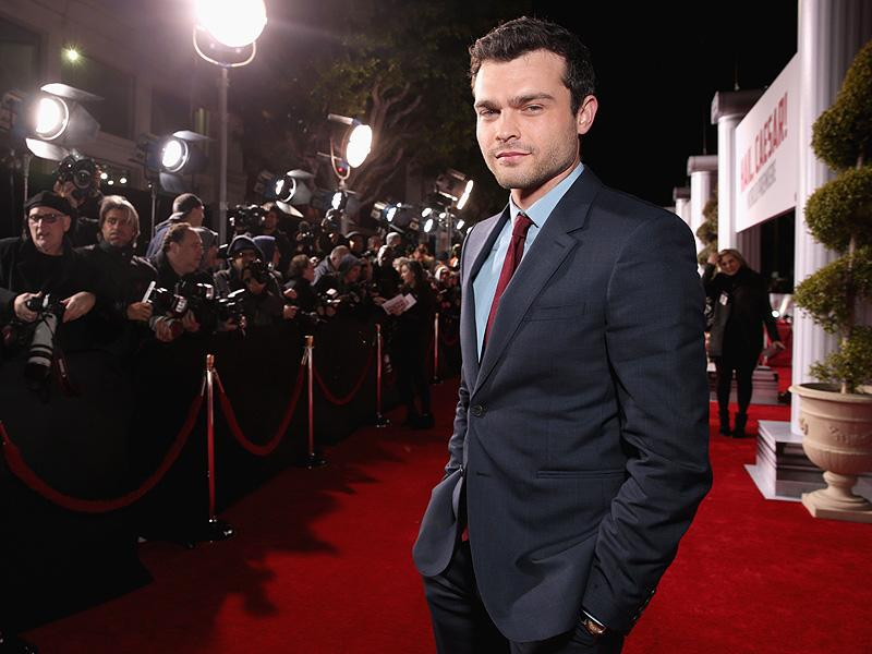 Alden Ehrenreich Says His First Steps Toward Playing Young Han Solo Have Been        Trippy