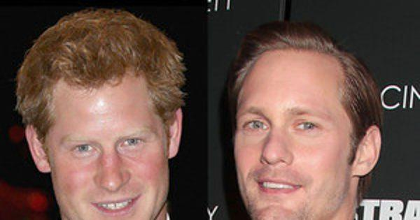 Alexander Skarsg  rd Talks Spooning Prince Harry During South Pole Trip
