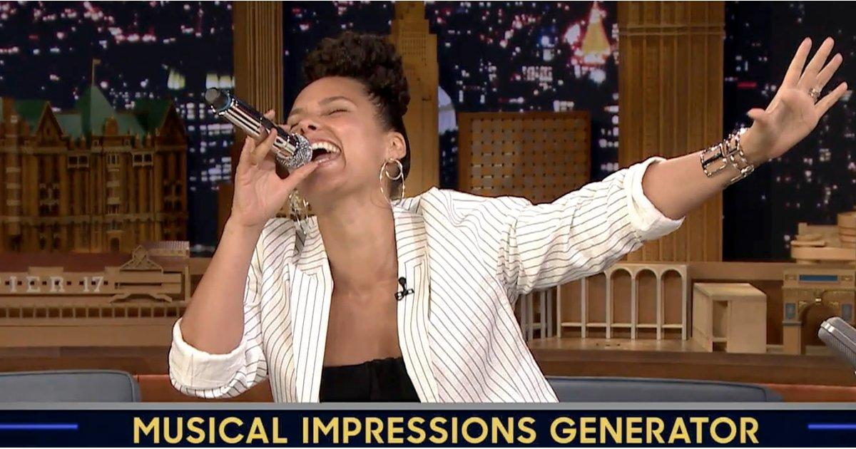Alicia Keys's Musical Impression of Adele Will Leave You With Your Jaw on the Floor
