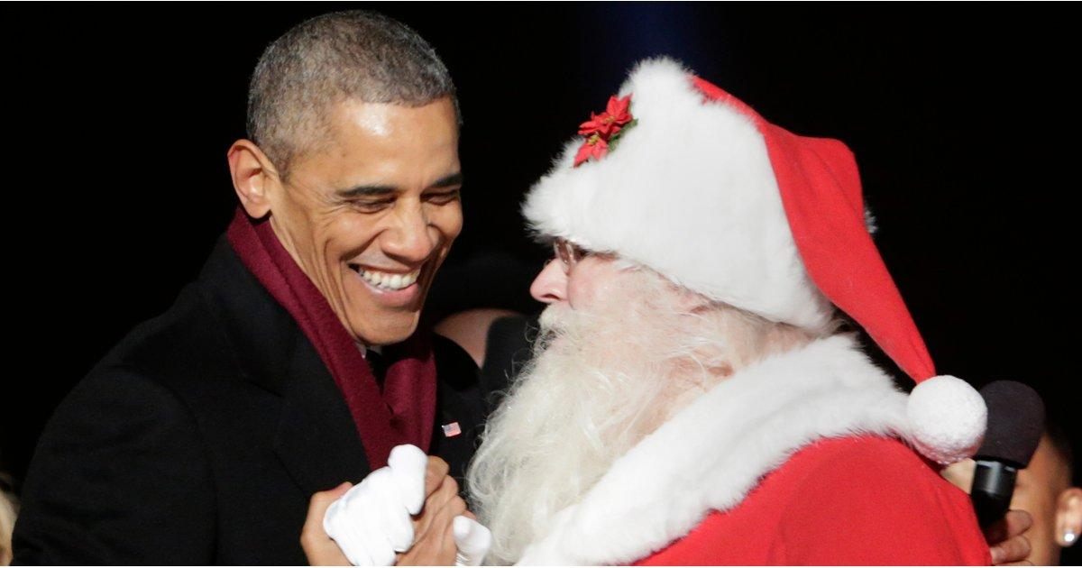 All the Stars Who've Been Lucky Enough to Meet Santa Claus