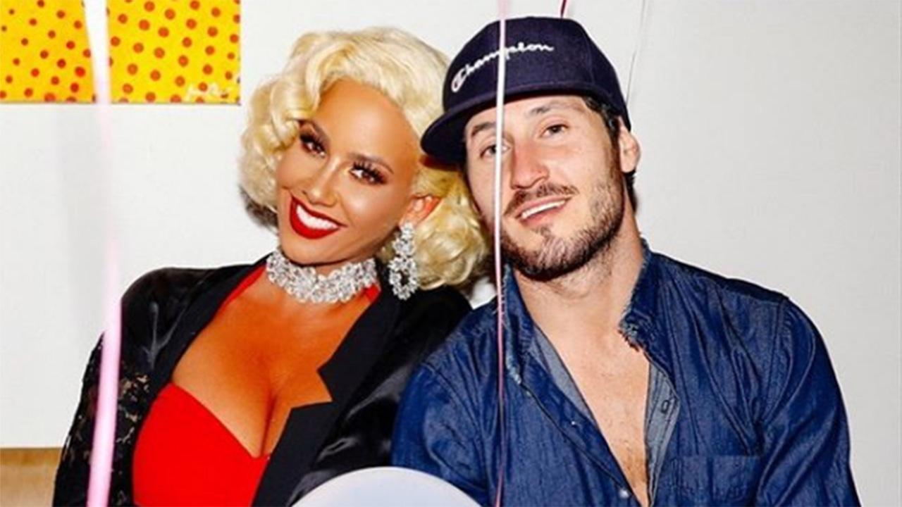 Amber Rose and Val Chmerkovskiy Spend Halloween Together Following Dating Rumors: Pics