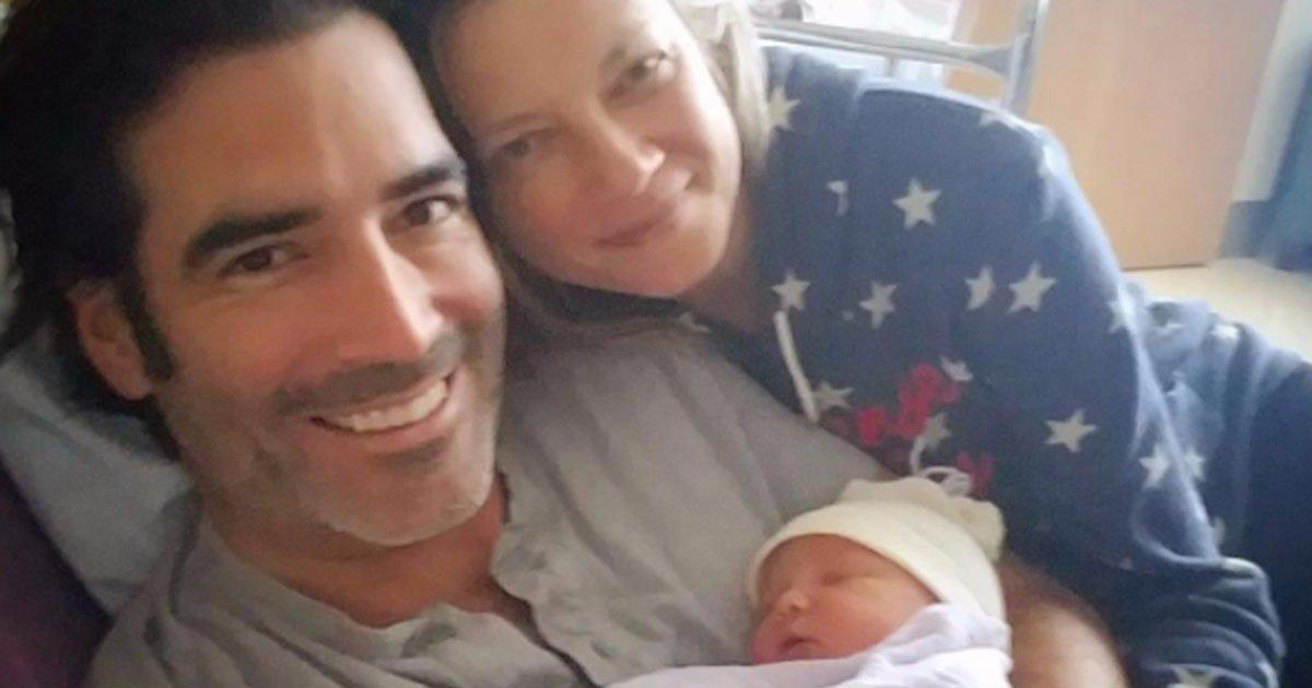 Amy Smart Welcomes Her First Child With Husband Carter Oosterhouse