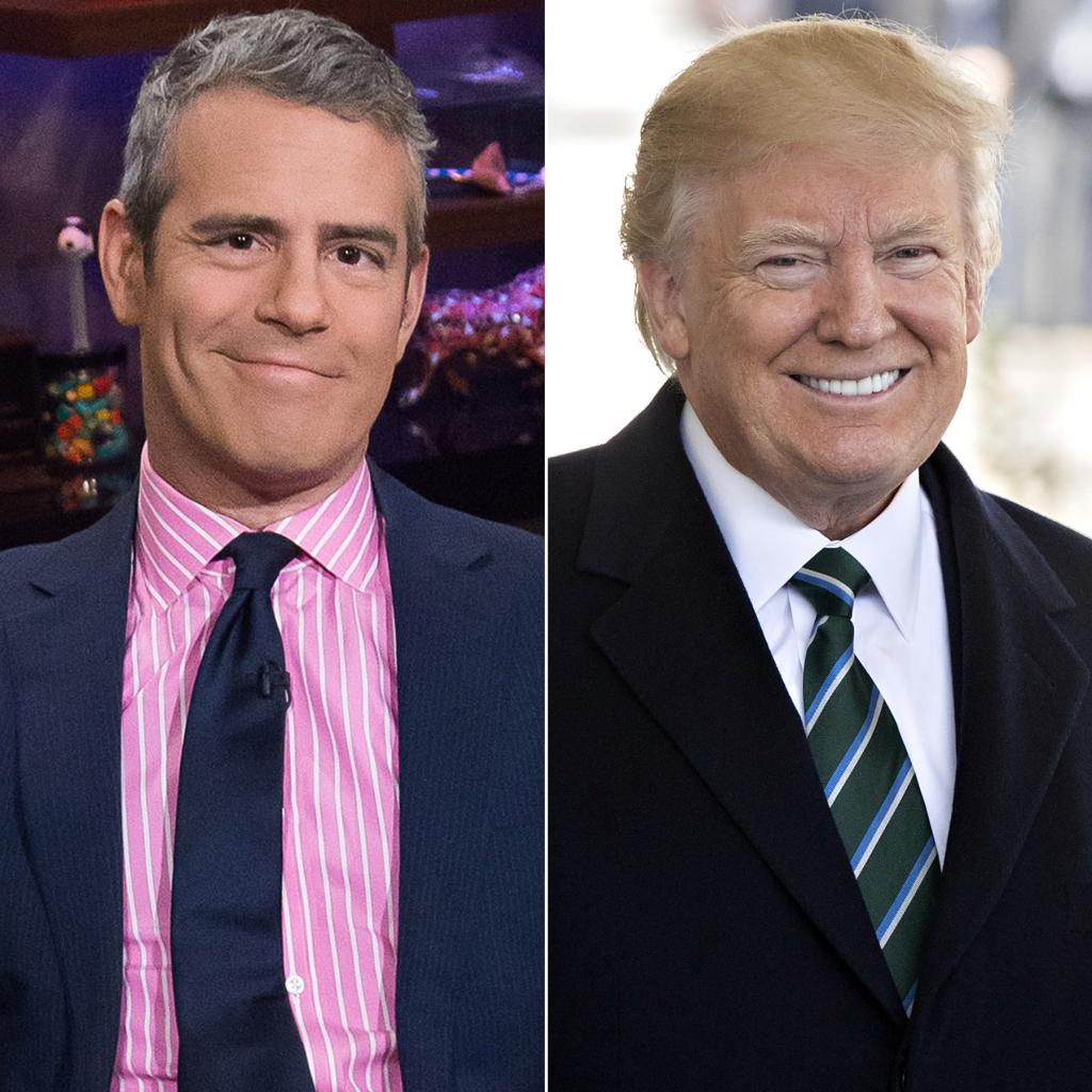Andy Cohen Compares Donald Trump to 'Real Housewife'