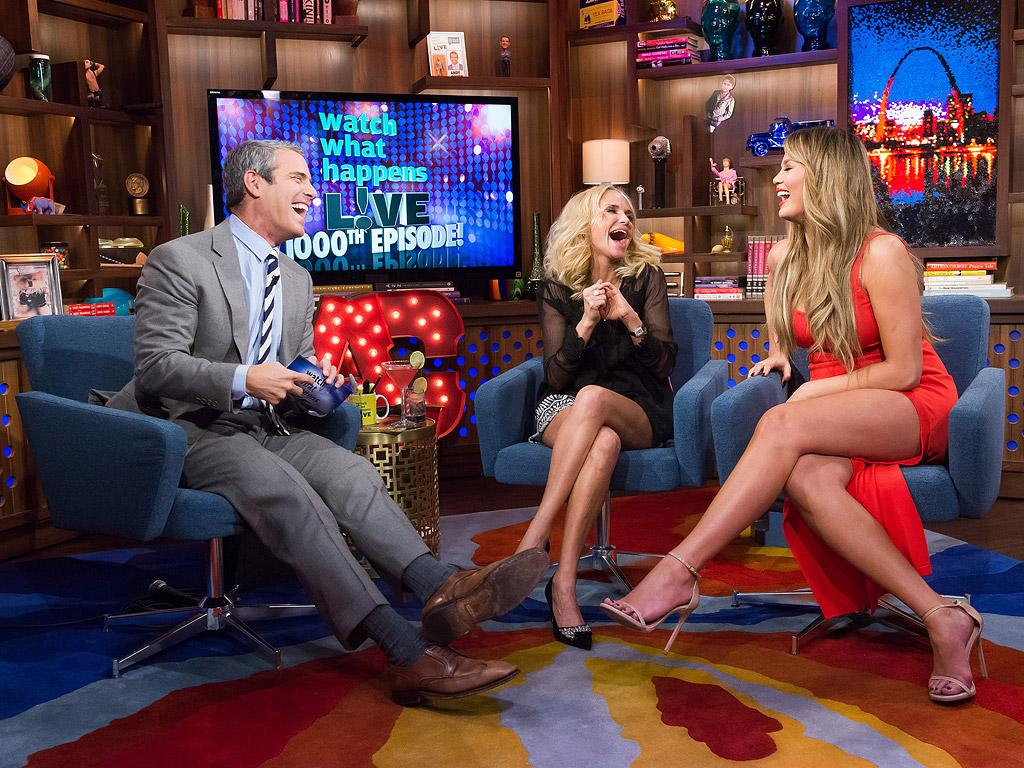 Andy Cohen - with a Little Help from Chrissy Teigen and Kris