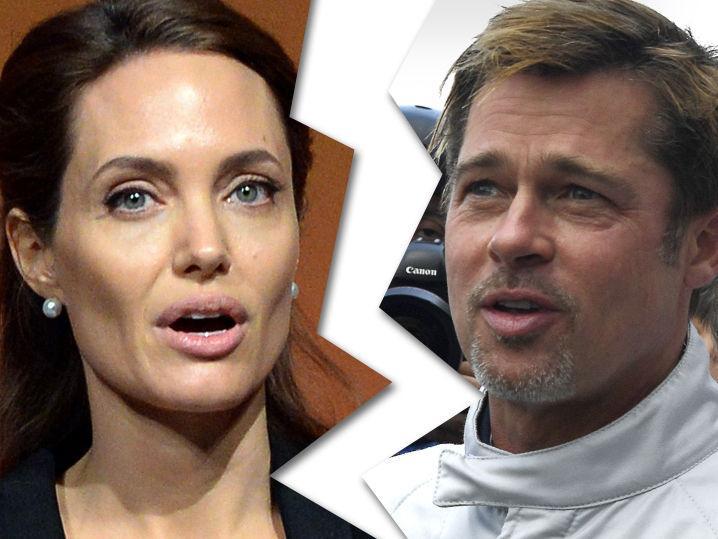 Angelina Jolie -- Files for Divorce from Brad Pitt