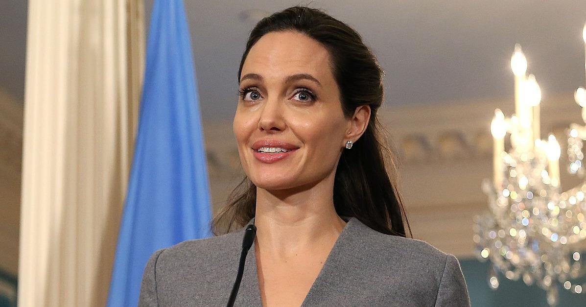 Angelina Jolie Honors World Refugee Day With a Special Visit to Washington DC