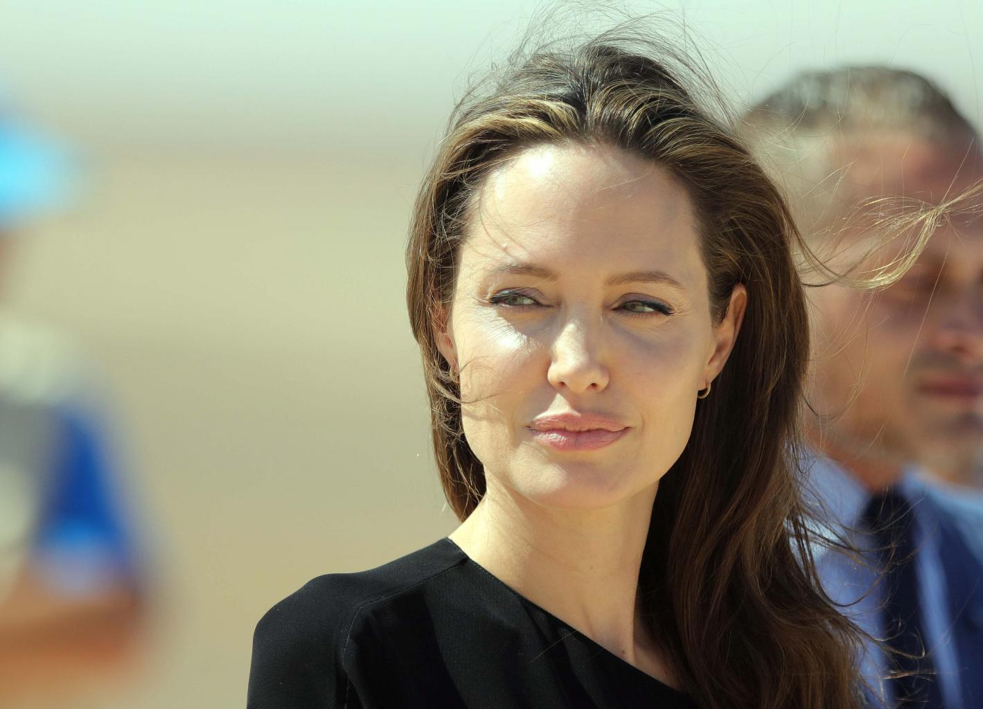 Angelina Jolie        Relieved      '  Investigation Into Brad Pitt Child Abuse Claims Has Ended