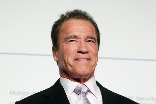 Arnold Schwarzenegger Posts First Instagram Photo With Son Joseph Baena:   'I Love You