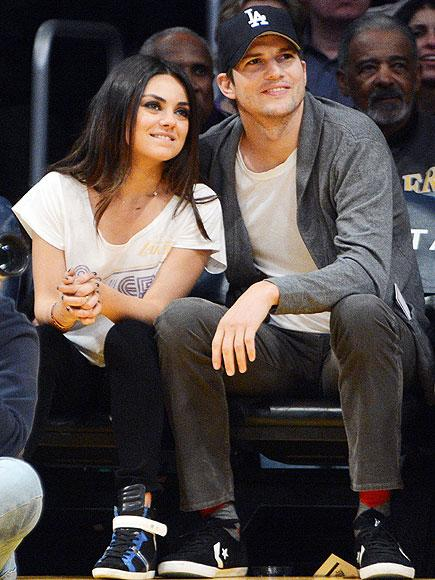 Ashton Kutcher Says Planning Secret Wedding with Mila Kunis