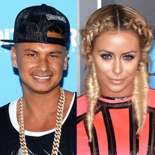Aubrey O'Day Confirms She's Dating Pauly D! ''We Connect in