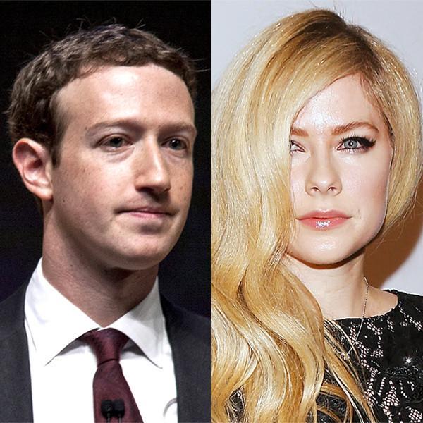 Avril Lavigne Accuses Mark Zuckerberg of