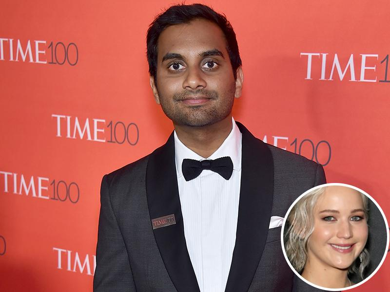Aziz Ansari Admits He Was 'Incredibly High' While Watching a Jennifer Lawrence-Narrated Documentary: 'It's Weird Hearing Your Friend's Voice'
