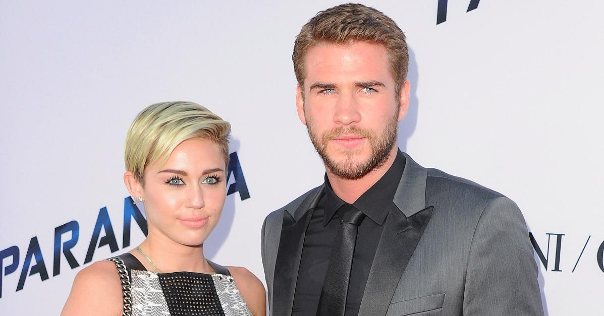 Back On? Miley Cyrus Rings in the New Year With Liam Hemswor