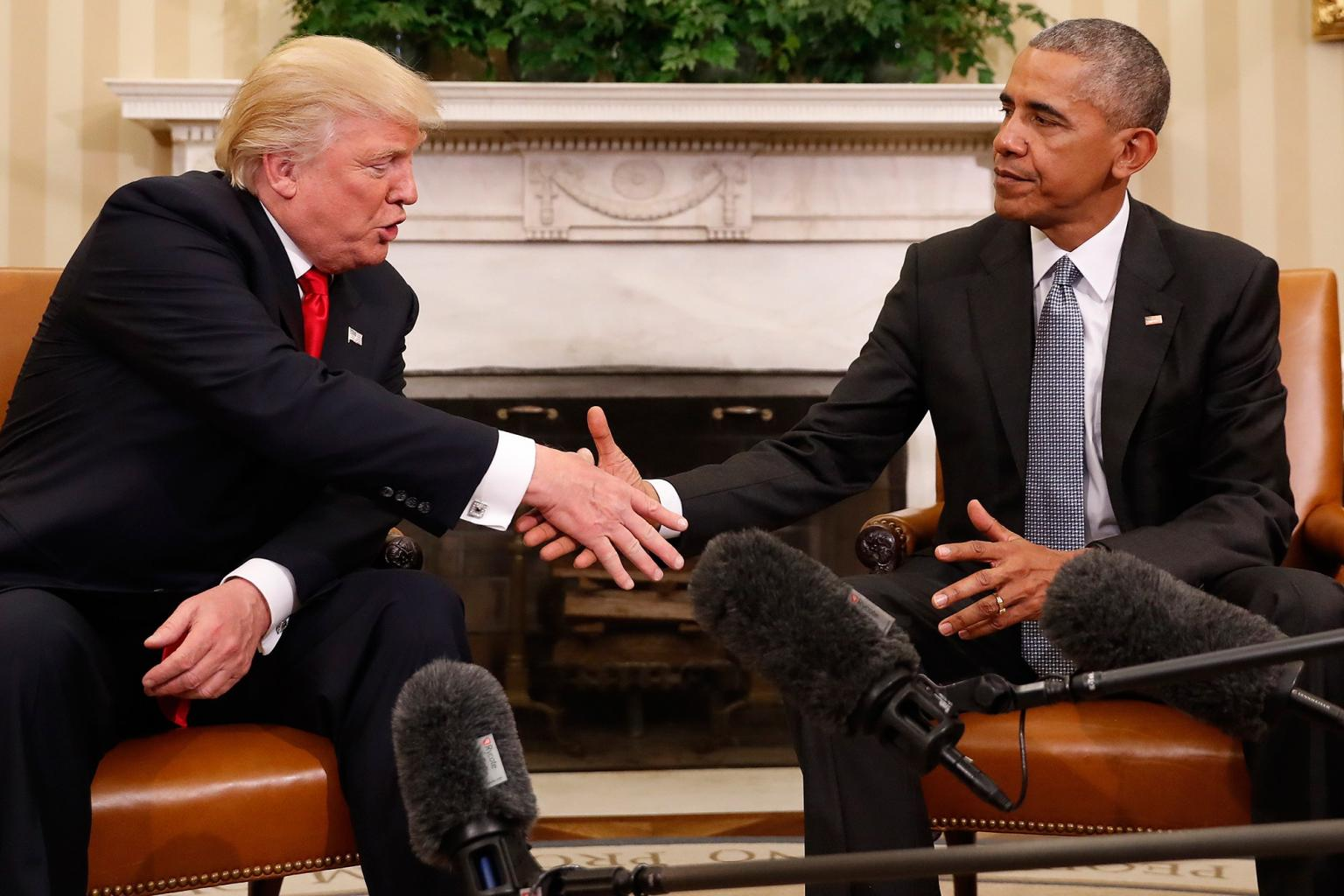 Barack Obama Says He and Donald Trump Are 'Sort of Opposites'