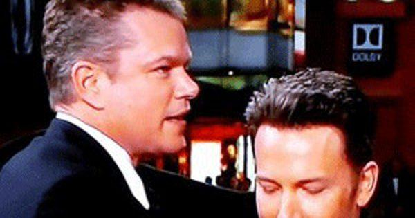 Ben Affleck Just Snuck Matt Damon into His Jimmy Kimmel Live