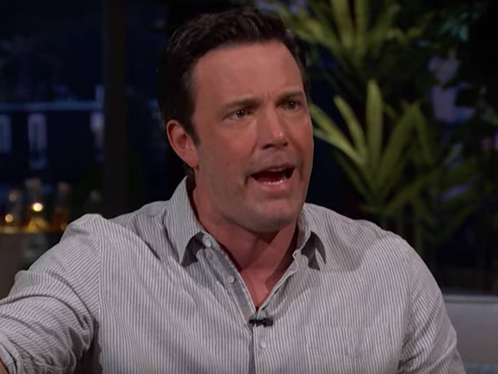 Ben Affleck -- Slurring, Ranting ... On HBO Talk Show