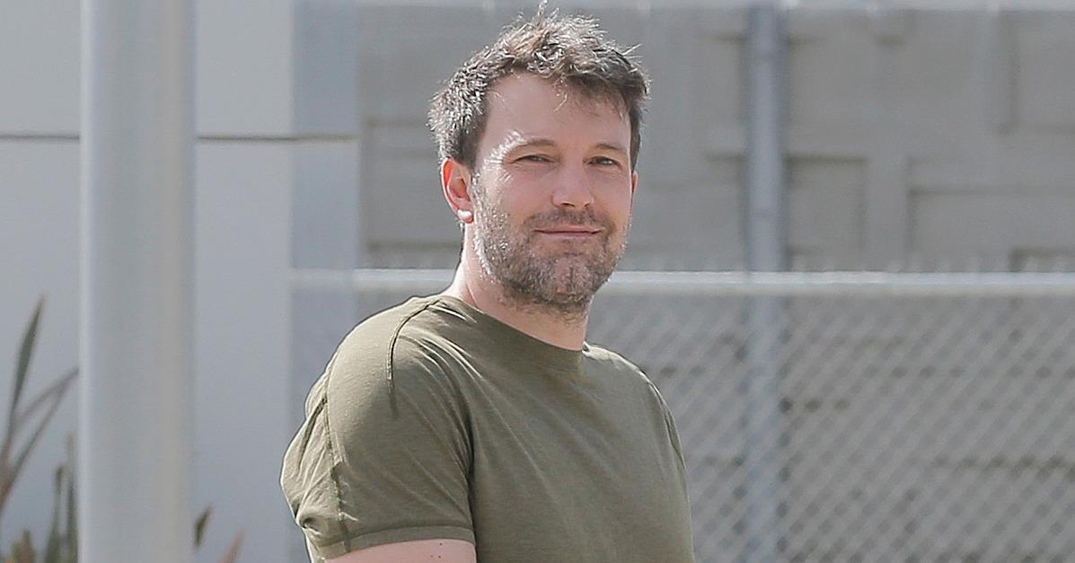 Ben Affleck Steps Out With a Smirk Following the Release of