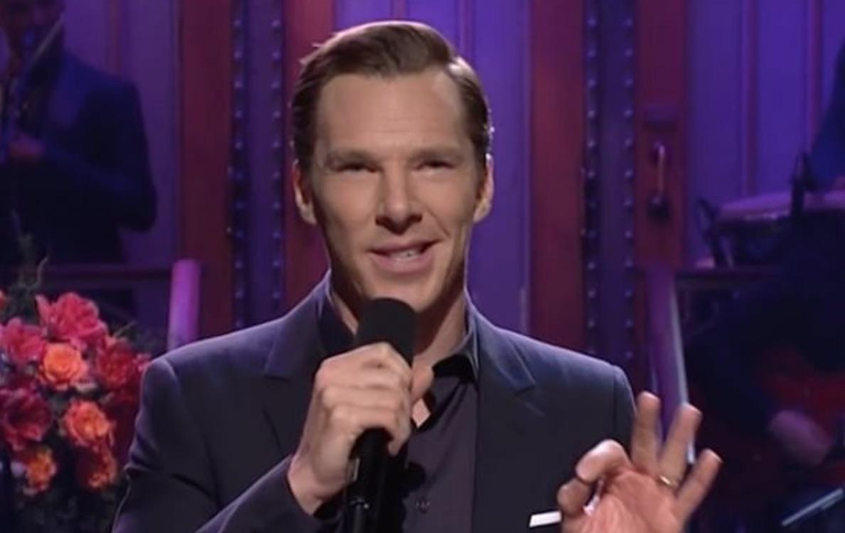 Benedict Cumberbatch Learns To Brag, Mocks His Own Sexiness In    SNL '  Debut      Plus Appearances By Bill Murray And The Church Lady!