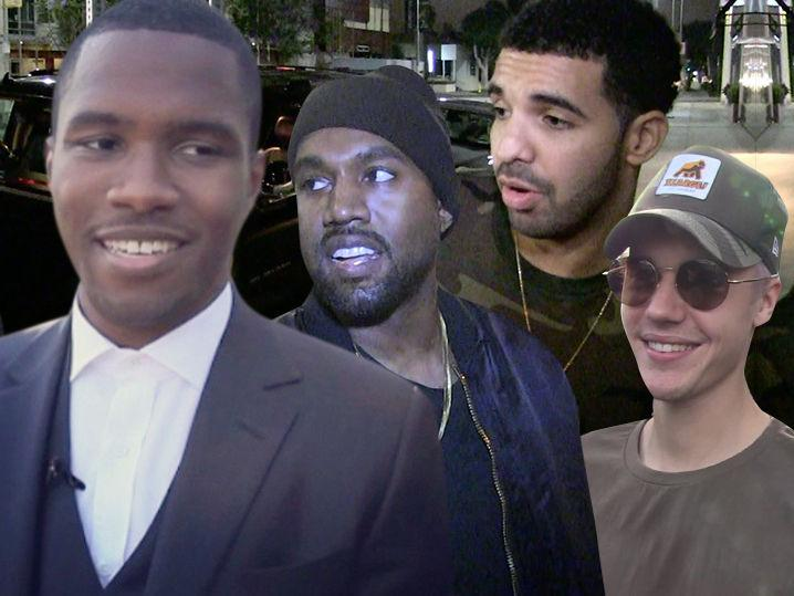 Bieber, Drake, Kanye Will Be No-Shows At Grammys