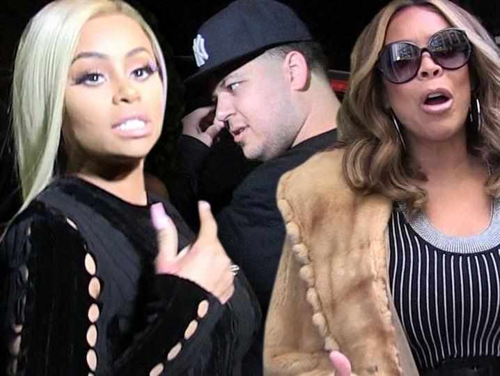 Blac Chyna -- Calls Out Wendy Williams ... Don't Come For My Family!!