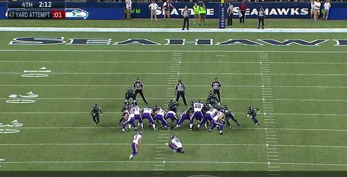 Can't-Miss Play: Vikings Kicker Blair Walsh Misses, Seahawks Celebrate