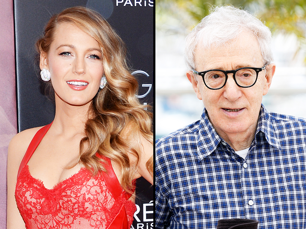 Blake Lively Calls Caf'  Society Director Woody Allen 'Very Empowering': He Gives You 'Confidence in Yourself'