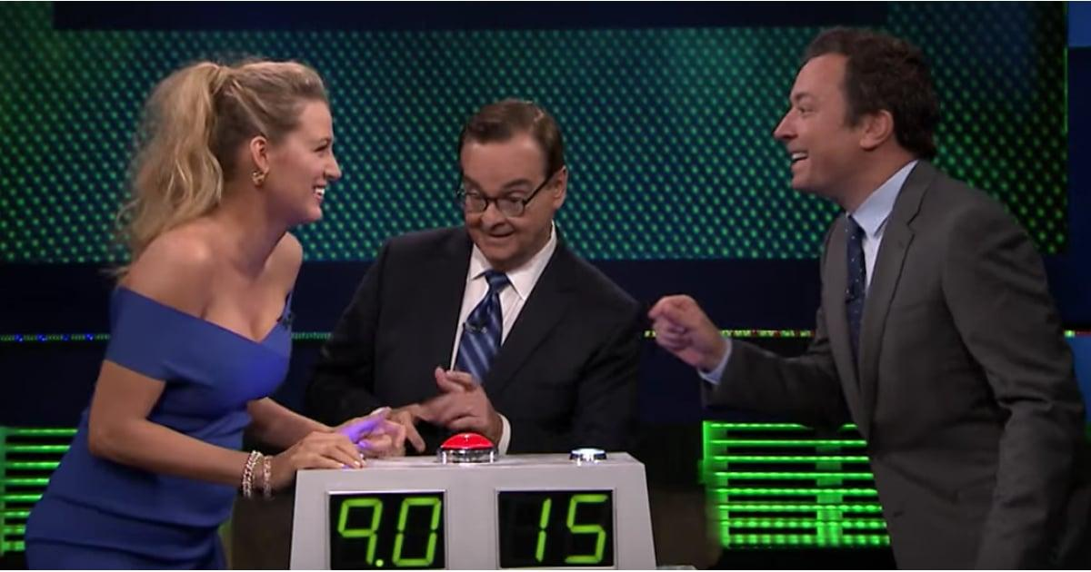 Blake Lively Gets Crazy Competitive While Playing