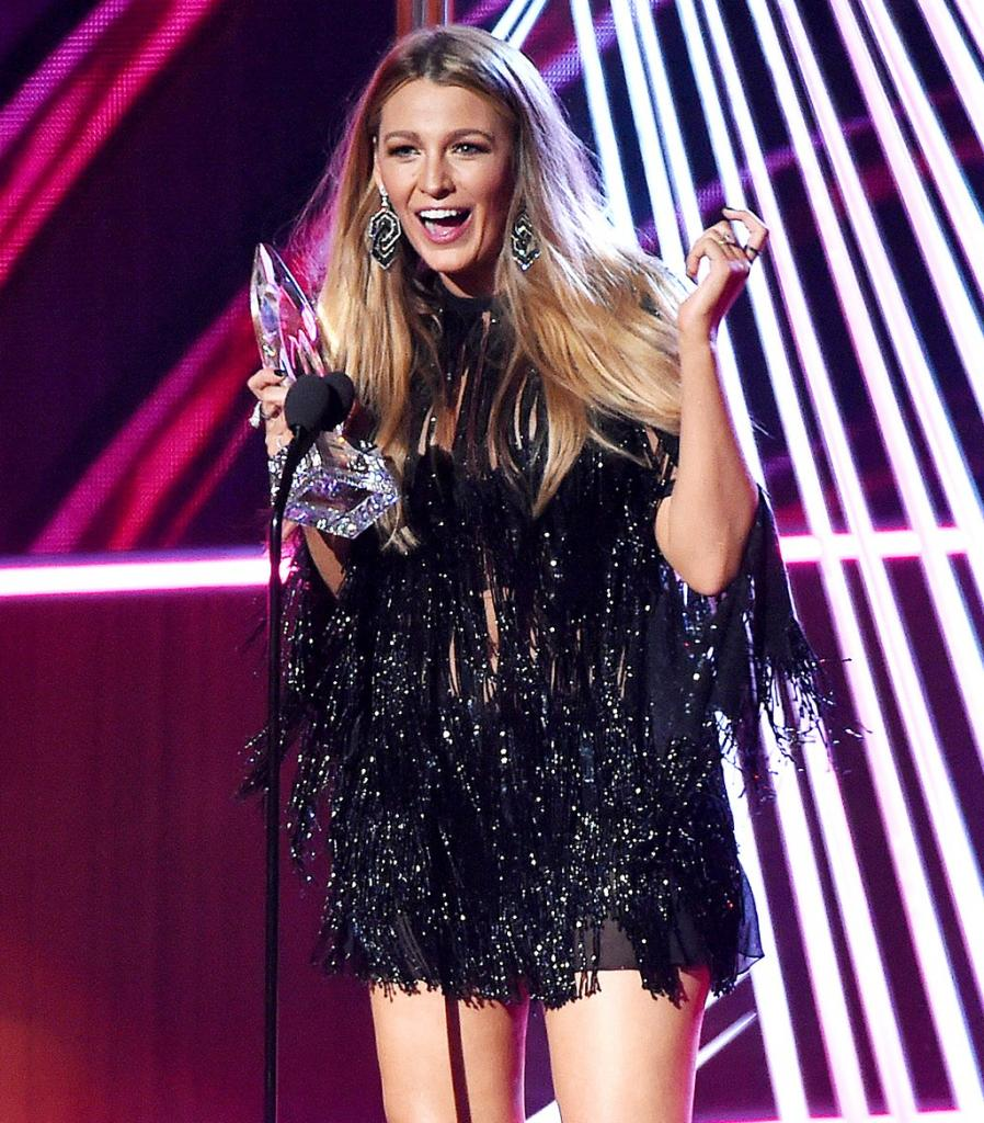 Blake Lively Thanks Husband Ryan Reynolds at PCAs: 'You Can't Have Him, He's Mine!'