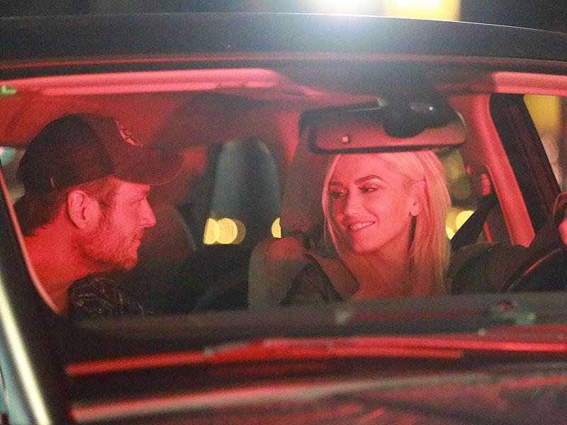 Blake Shelton and Gwen Stefani Are All Smiles During Romanti