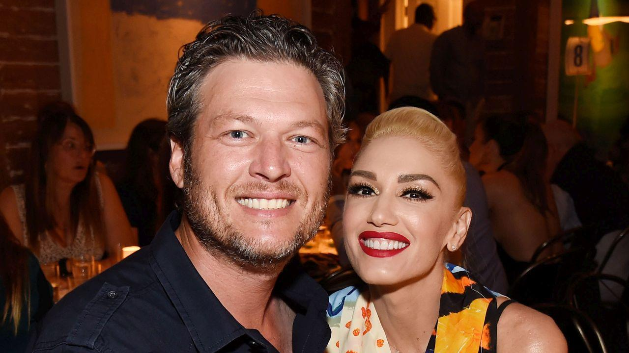 Blake Shelton Puts on 'Private Show' For Gwen Stefani's Family on Christmas Eve