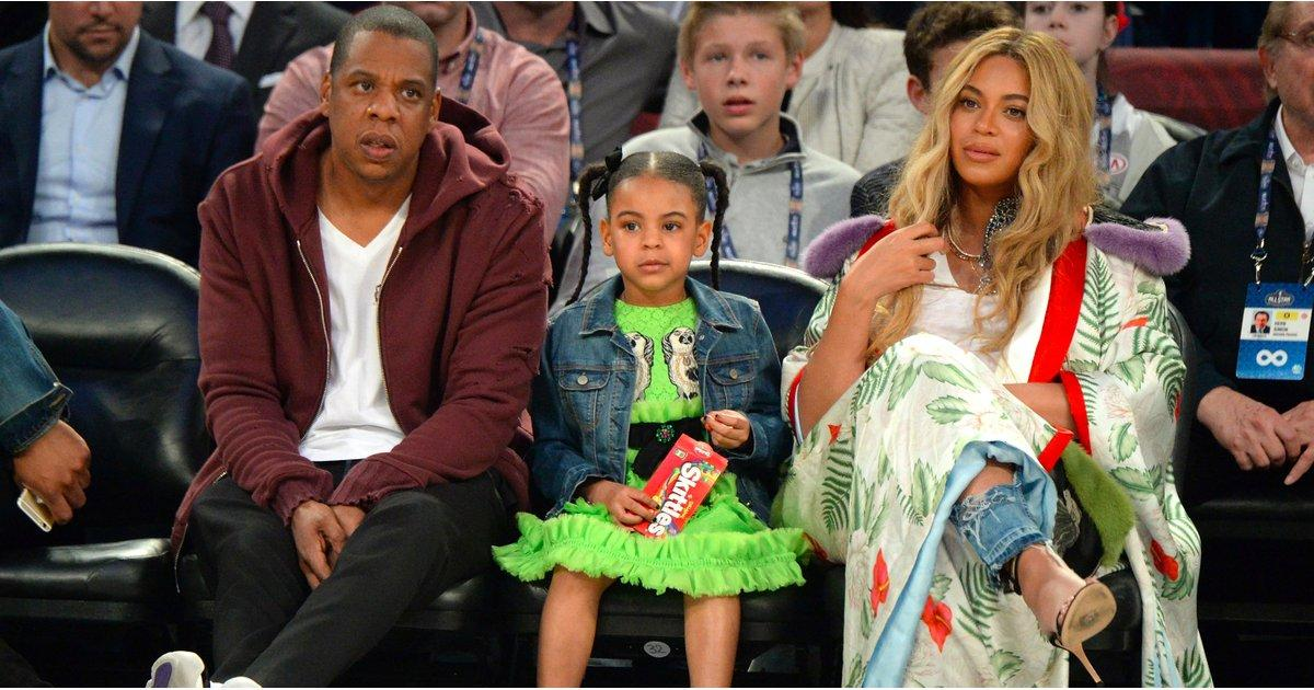 Blue Ivy Might Not Be as Big of a Basketball Fan as Beyonc  '  and Jay Z